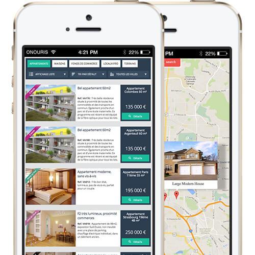 créer son site immobilier