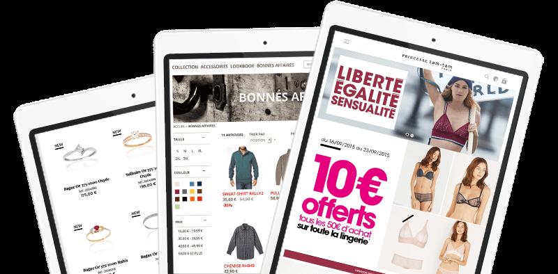 tarifs création site e-commerce